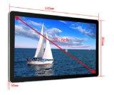 Касание LCD держателя стены 22 дюймов рекламируя игрока