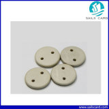 Etiqueta lavable del lavadero NFC del botón de RFID para la gerencia del lavadero