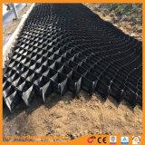 De HDPE preto Geocells com orifícios