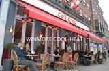 Comfort Calentador Calentador eléctrico para Cafetería Tienda (IP65)
