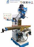 El moler vertical universal del taladro de la torreta del metal del CNC y perforadora para la herramienta de corte X6332clw-2