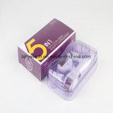 5 em 1 de Derma Roller Medical Micro Sistema de agulha Rolo de pele de beleza