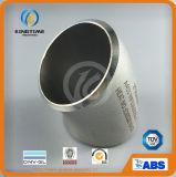 Ss ASTM 403 Wp 45D Sr Soldadura do cotovelo do tubo de montagem (KT0239)