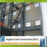 Qualität fabrizierte Stahlkonstruktion-Halle vor