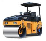 고품질 유압 두 배 드럼 도로 롤러 4.5 톤