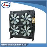 12V190-800-4 de aluminio personalizado el agua del radiador de refrigeración