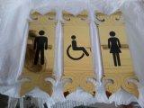 卸し売り印のカスタムホテルの部屋の番号記号LEDの屋家番号の印