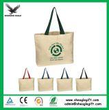 Custom Plain White sac fourre-tout en toile de coton naturel