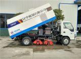 Isuzu 4X2 LHD 4m3の真空のクリーニングの通りの道掃除人のトラック