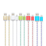 Cable de carga de los datos coloridos del USB 2A para el iPhone Andriod
