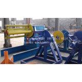 15 T Decoiler hidráulico com carro de bobina