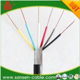 3X0.75mm2 5X1. mm2 7X Kabel van de Controle van de Kern LSZH van de Kabel van de Controle van pvc van de 1.5mm2 de Elektrische Kabel Multi
