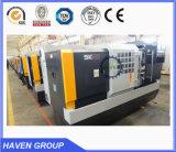 Máquina horizontal del torno del CNC de la venta caliente