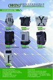 Carrello solare con i comitati solari e la Banca di potere per esterno