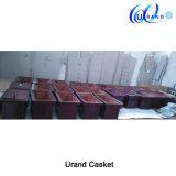 Cercueil et cercueil solides de lustre de Matt de chêne rouge