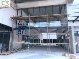 Système en verre de mur rideau de panneau de façade d'architecture de Moden de fixation extérieure de point