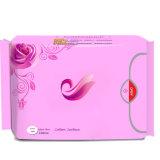 390mm 100% Coton des serviettes hygiéniques pour dames nuit