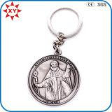 Presente feito sob encomenda Keychain da lembrança do metal do logotipo da promoção com certificação do GV