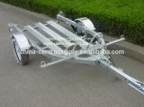 Il rifornimento della fabbrica e del fornitore ha galvanizzato il rimorchio del motociclo delle 2 guide (CT0301B)