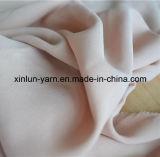 Señora seda impreso floral de la gasa de la blusa de tela