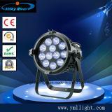 Chaud LED étanche de vente PAR54 3W LED RGBW PAR54 éclairage de scène.