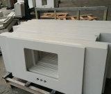 De witte Kunstmatige Steen van het Kwarts voor Tegels, Plakken, Countertops (yqg-QS1001)