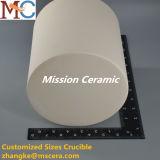 Crogiolo di ceramica di vendita di modo dell'allumina calda del pezzo fuso