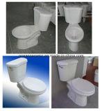 Hoge Efficiency om Tweedelig Toilet Siphonic dat met 3 Duim van Gelijke Montage wordt geplaatst 9014