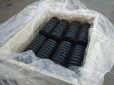 Rol van de Rollen van de Transportband van de bulk Behandeling de Nuttelozere Rubber
