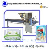 SWC590 horizontale het stoom-Brood van het Type Verpakkende Machine