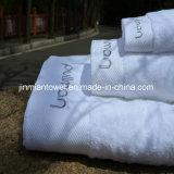 100% coton Terry hôtel blanc personnalisé les serviettes de bain