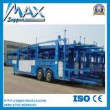 Car Carrier Truck / Car Carrier Trailer / Car Transport Trailer Chargement 8 Voitures