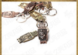 Highqualityの中国のStyle Customized Metal Souvenir Key Ring