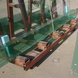 La taille sur mesure Low-Iron 10-19mm super grand verre feuilleté