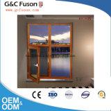 고품질 프랑스 작풍 Windows 또는 광저우에 있는 알루미늄 두 배 유리제 여닫이 창 Windows