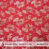Peça de vestuário têxtil de poliéster de tecido de malha Lace (M0477-G)