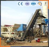 50m3 Dry Mix Portable Twin Shaft Concrete Mixing Plant