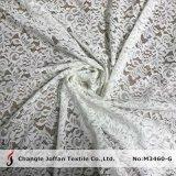 ジャカードによって編まれるすべての服のレースの綿織物(M3460-G)