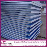 Стальные полиуретан PU Сэндвич панели для стен и крыши