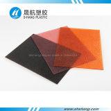 Farbige Polykarbonat-PC geprägte Platte mit SGS