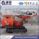 Prix solaire de gestionnaire de machine d'empilage de vis au sol de rambarde (hfpv-1A)