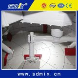 Type compétitif mélangeur concret planétaire de carter de construction de la colle du malaxeur 0.5m3