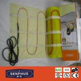VDE électrique de couvre-tapis d'étage de chauffage reconnu