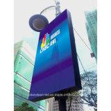 P4/P5/P6/P8 WiFi 3G 4G sans fil Affichage LED de pôle de la publicité extérieure