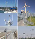 generatore di vento potabile di 500W 24VDC + regolatore ibrido della carica con capienza solare supplementare 200W
