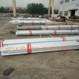 Tour en acier de transport d'énergie de cornière de pattes de la haute précision quatre d'usine