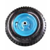 Rotella pneumatica 4.00-8 della rotella di gomma dell'aria