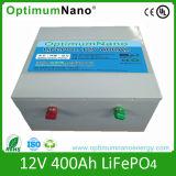 batería de 12V 400ah LiFePO4 para la UPS