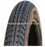 Motorrad zerteilt haltbaren schwarzen Motorrad Reifen 3.00-18 mit neuem Muster