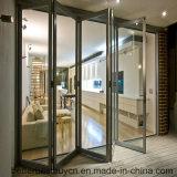 Puerta BI-Plegable de la aleación de aluminio del estilo europeo agradable